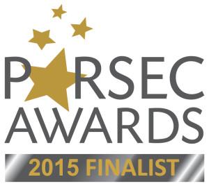 2015 Parsec Awards Finalist logo